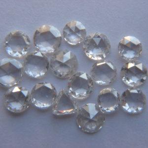 OM Diamond - Round Rose Cut